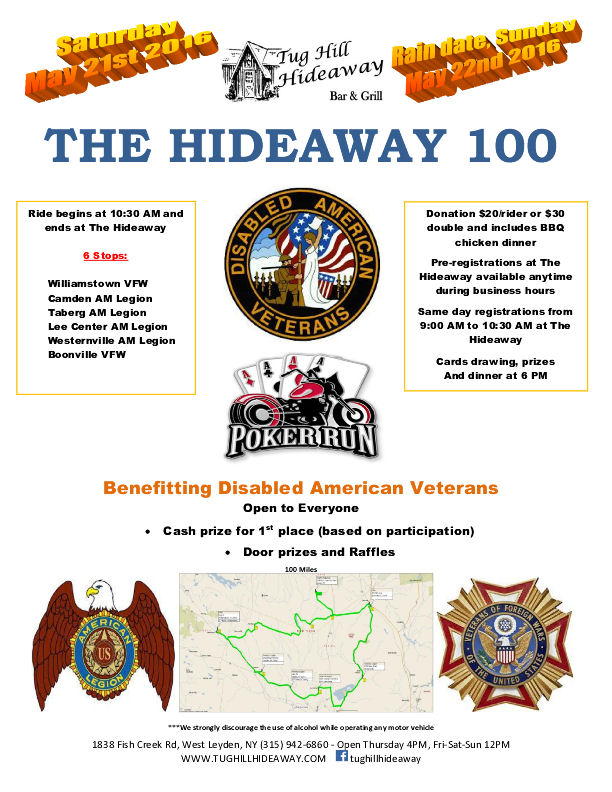 THE HIDEAWAY 100v3